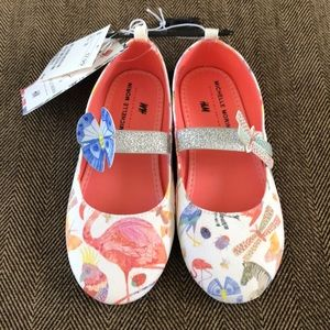 Little girls Adorable animal ballet flats.